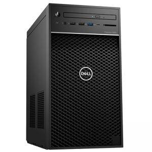 Работна станция Dell Precision 3630 Tower, Intel Xeon E-2124 (3.3GHz, 4 Core, 8MB), 8GB DDR4, 256 GB M.2 SSD, 1TB HDD, Radeon Pro WX 2100, #DELL02361