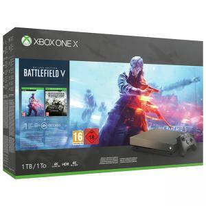Конзола XBOX ONE X BATTLEFIELD V GOLD RUSH CONSOLE BUNDLE