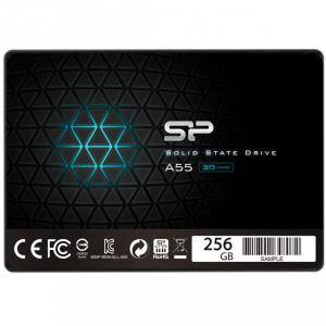 Диск Solid State Drive (SSD) SILICON POWER A55, 2.5, 256 GB, SATA3, SLP-SSD-A55-256GB