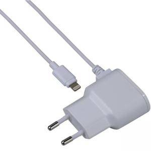 Зарядно HAMA 173861, 220V Lightning за Apple iPhone, Бял,1A, HAMA-173861