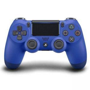 Джойстик PlayStation 4 - DualShock 4 Wireless Controller, blue