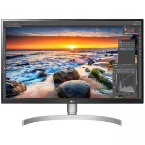 Монитор LG 27UK850-W, 27 Wide LED, IPS Panel Anti-Glare, sRGB 99%, Cinema Screen, 5ms, 1000:1, Mega DFC,450 cd/m2,3840x2160, MAXX Audio 5W x 2, 27UK850-W