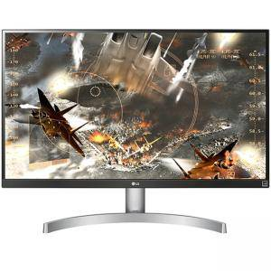 Монитор LG 27UK600-W, 27 Wide LED, IPS Panel Anti-Glare, sRGB 99%, Cinema Screen, 5ms, 1000:1,Mega DFC,450 cd/m2,3840x2160,HDMI,DisplayPort, 27UK600-W