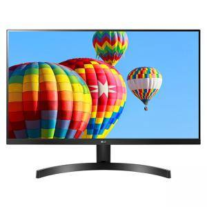 Монитор LG 27MK600M-B, 27 IPS, LED AG, 5ms GTG, 1000:1, Mega DFC, 250cd/m2, Full HD 1920x1080, Free-sync, D-Sub, HDMI, Tilt, H/P out, Черен, 27MK600M