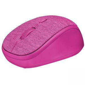 Мишка TRUST Yvi Fabric Wireless Mouse - розов, 22674