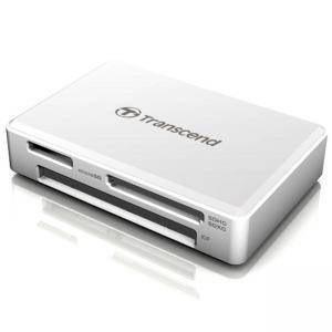 Четец за флаш карти карта Transcend USB 3.1 Gen 1 All-in-1 Multi Memory Card Reader for SDHC UHS-I/SDXC UHS-I/microSDHC UHS-I,TS-RDF8W2