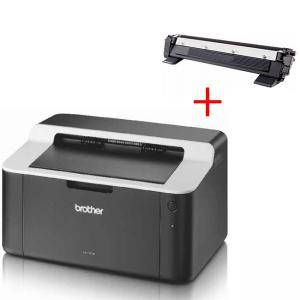 Лазерен принтер - Brother HL-1112E Laser Printer - HL1112EYJ1+КАСЕТА ЗА BROTHER MFC-1810E/HL 1110/1112/DCP 1510/1512 - MediaRange -TN-1050, TN-1030