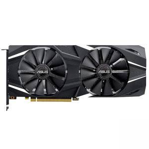 Видео карта ASUS DUAL-RTX2070-O8G, 8 GB GDDR6 (14000 MHz), 256 bit, NVIDIA GeForce RTX 2070 (1740 MHz/410 MHz), PCI Express 3.0, ASUS DUAL-RTX2070-O8G