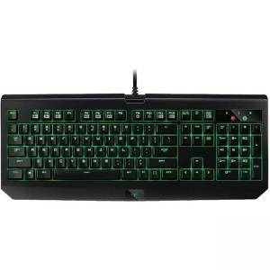 Клавиатура Razer BlackWidow Ultimate 2017–Mechanical Gaming Keyboard-US Layout (GREEN SWITCH),Water and Dust-Resistant,Backlit Keys,RZ03-01703000-R3M1