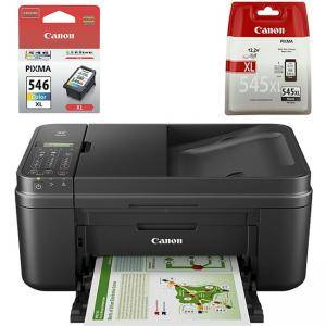 Мастилоструйно многофункционално устройство Canon PIXMA MX495 All-in-one, Fax, Black, 0013C009AB