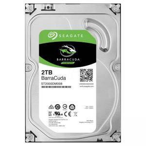 Твърд диск Seagate BarraCuda 2 TB, 3.5 инча, 7200 rpm, 256 MB Cache, SATA3, ST2000DM008