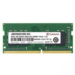 Памет Transcend 8GB 260pin SO-DIMM DDR4 2666, 1Rx8 1Gx8 CL19 1.2V, JM2666HSB-8G