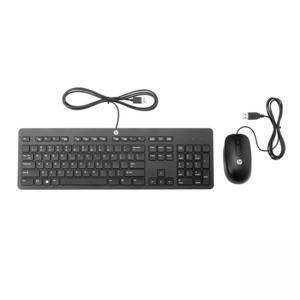 Клавиатура и мишка HP Slim USB Keyboard and Mouse, T6T83AA - РАЗОПАКОВАН ПРОДУКТ