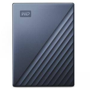 Твърд диск HDD 2TB USB-C MyPassport Ultra Blue Black, WDBC3C0020BBL