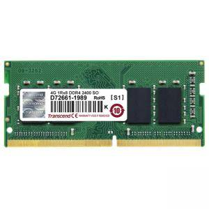 Памет Transcend 4GB JM 260pin SO-DIMM DDR4 2400, 1Rx8 512Mx8 CL17 1.2V, JM2400HSH-4G