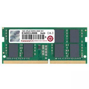 Памет Transcend 16GB 260pin SO-DIMM DDR4 2666, 2Rx8 1Gx8 CL19 1.2V, TS2GSH64V6B