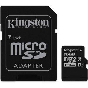 Карта памет 16GB SDMIC KINGSTON CANVAS SEL