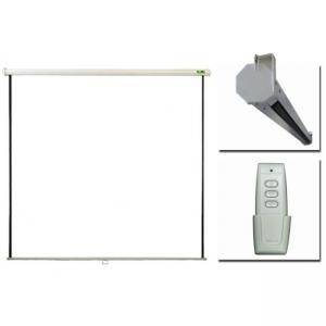 Екран PRIVILEG ELECTRIC 100, 2.0x1.5m, 4:3, Matte White, RF Remote, roll up down, ERV200
