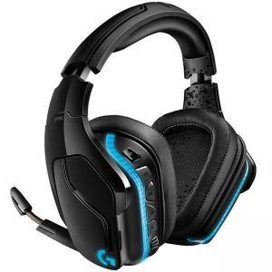 Геймърски слушалки Logitech G935 Wireless 7.1 Surround Lightsync Gaming Headset, 981-000744