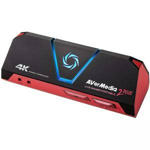 Външен кепчър AVerMedia LIVE Gamer Portable 2 Plus, USB, HDMI, 4-Pole 3.5mm Jack, AVER-LG-GC513