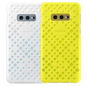 Калъф за Samsung Galaxy S10е - Pattern Cover White & Yellow, EF-XG970CWEGWW