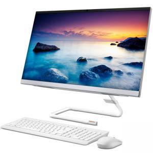Компютър Lenovo IdeaCentre AIO A340, 21.5 инча FHD (1920x1080) IPS, Intel Core i3-8145U, 4GB DDR4, 1TB HDD, DVD, WiFi, HD cam, White, F0EB004CBG