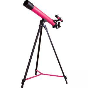 Телескоп Bresser Junior Space Explorer 45/600 AZ Telescope, pink,levenhuk-70133