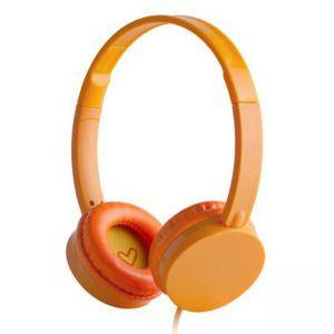 Слушалки Energy Sistem Headphones Colors Tangerine, 3.5 mm jack, оранжеви, 39488