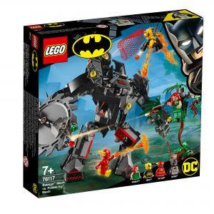 Конструктор Лего Супер Хироу - Batman Mech vs. Poison Ivy Mech, LEGO DC Comics Super Heroes 76117