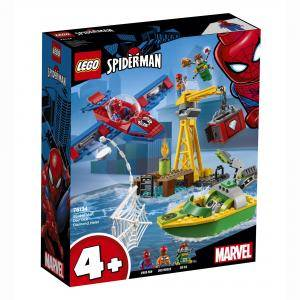 Конструктор Лего Супер Хироу - Spider-Man: Кражба на диаманти с Dock Ock, LEGO Marvel Super Heroes 76134