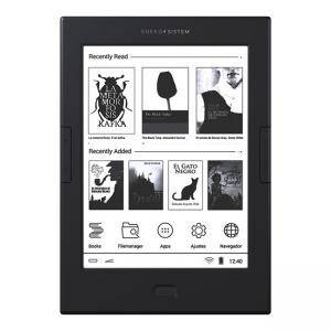 Електронна книга Energy Sistem EREADER MAX, 6 инча (15.24 cm) E Ink Carta HD дисплей, двуядрен ARM Cortex A9 1.0GHz, 512MB DDR3, 42852
