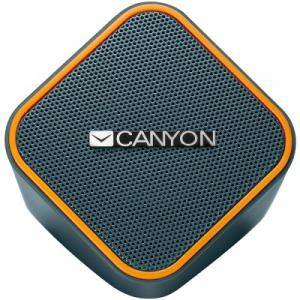 Колона Canyon wired stereo Speaker, 1.2m cable with USB2.0 & 3.5mm audio connector, 65x65x75mm, 0.252kg. CNS-CSP203O
