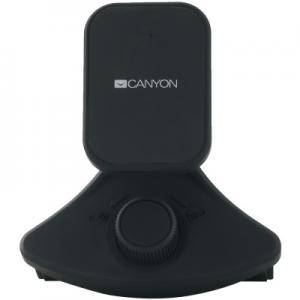 Държач за смартфон за кола Canyon Car Holder for Smartphones,magnetic suction function ,with 2 plates, black ,91x84x48mm 0.070kg. CNE-CCHM8