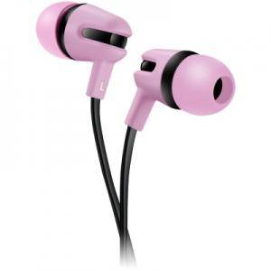 Слушалки CANYON Stereo earphone with microphone, 1.2m flat cable, Rose, 22x12x12mm, 0.013kg. CNS-CEP4RO