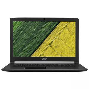 Лаптоп, Acer Aspire 7, A715-72G-78P3, Intel Core i7- 8750H (up to 4.10GHz, 9MB), 15.6 инча FullHD (1920x1080) Anti-Glare, HD Cam, NH.GXCEX.031