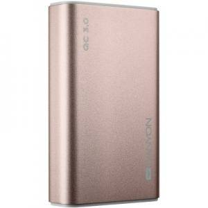 Външна батерия Power bank 10000mAh, quick charge QC3.0,  bulit in Lithium Polymer Battery, Rose Gold. Micro Input: 5V/2A, 9V/2A. CND-TPBQC10RG