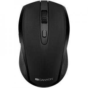 Мишка 2 in 1 Wireless mouse, Optical 800/1200/1600 DPI, 6 button, 2 mode(BT/ 2.4GHz), black. CNS-CMSW08B