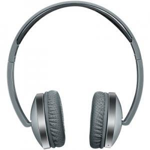 Слушалки CANYON Wireless Foldable Headset, Bluetooth 4.2, Dark gray, cable length 0.16m, 175x70x175mm, 0.149kg. CNS-CBTHS2DG
