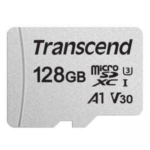 Карта памет Transcend 128GB, microSD UHS-I U3A1 (without adapter), TS128GUSD300S
