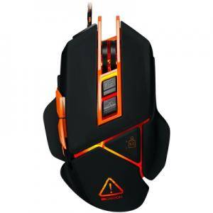 Мишка CANYON Optical gaming mouse, adjustable DPI setting 800/1600/2400/3200/4800/6400, LED backlight. CND-SGM6N