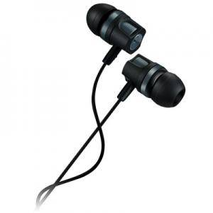 Слушалки CANYON Stereo earphones with microphone, 1.2M, dark Сиви. CNE-CEP3DG
