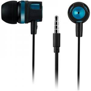 Слушалки CANYON Stereo earphones with microphone, 1.2M, Зелени. CNE-CEP3G
