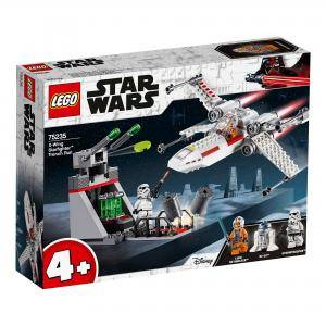 Конструктор Лего Стар Уорс - X-Wing Starfighter Trench Run - LEGO Star Wars, 75235