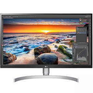 Монитор LG 27UL850-W, 27 инча, 4K UHD IPS LED, IPS, 3840x2160, 5 ms. 27 LG 27UL850-W