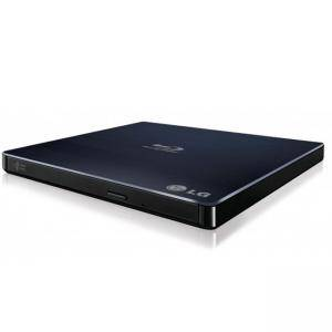 Оптично устройство, Hitachi-LG BP55EB40 External Ultra Slim Portable Blue-ray Disc M-DISC Support, USB 2.0, BP55EB40.AHLE10B