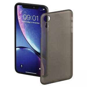Гръб HAMA Ultra Slim за Apple iPhone XR, черен, HAMA-184291