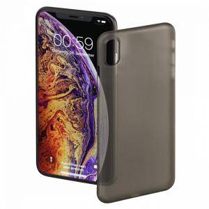 Гръб HAMA Ultra Slim за Apple iPhone Xs Max, черен, HAMA-184279