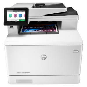 Лазерно многофункционално устройство HP Color LaserJet Pro MFP M479fdw, Hi-Speed USB 2.0, Ethernet 10/100/1000, Wi-Fi Direct, Bluetooth, W1A80A