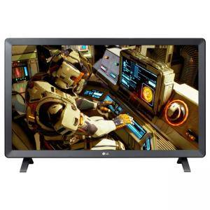 Монитор LG 24TL520S-PZ, 23.6 инча WVA (1366x768) LED, Smart webOS, 1000:1, 5 000 000:1 DFC, 200cd, HDMI, USB, DVB-T2/C/S2 (MPEG4), 2x5W, 24TL520S-PZ