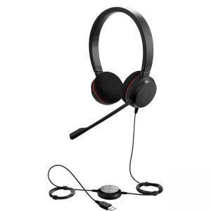 Слушалки с микрофон Jabra EVOLVE 20 MS Duo, Noise Cancelling, Microphone, USB, 4999-823-109